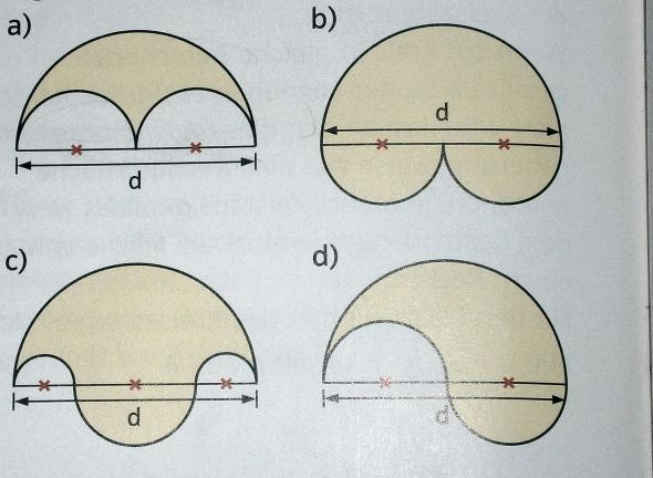 matheproblem umfang und fl cheninhalt von kreisfiguren. Black Bedroom Furniture Sets. Home Design Ideas