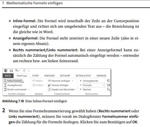 MathType 1 - (Mathematik, Word, Office)