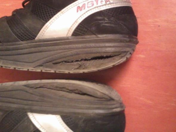 MBT Schuhe kaputt