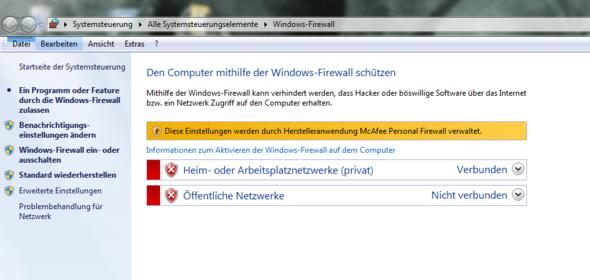 McAfee Personal Firewall Firewall Kann Nicht Aktiviert Werden Was - Minecraft lokales netzwerk spielen