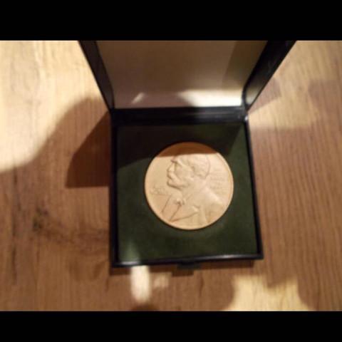 Medaille Nobelpreis Wert Schatz Erbstücke