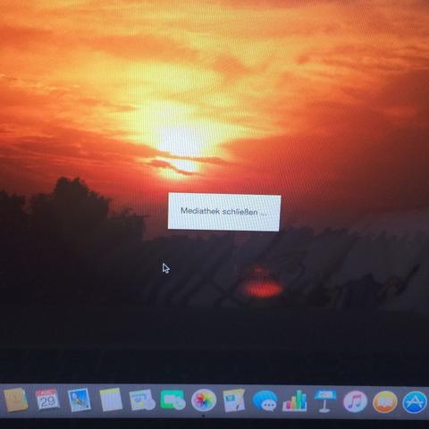 Es geht einfach nicht weg  - (Apple, MacBook, iPhoto)