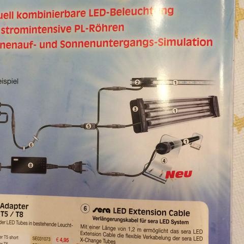 Das ist das  - (LED, meerwasser, sera)
