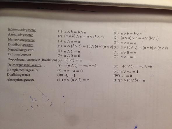 Gesetze - (Gesetz, Gleichungen, Terme)