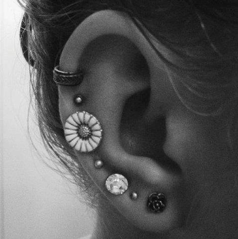 piercing - (Piercing, Ohr, Schmuck)