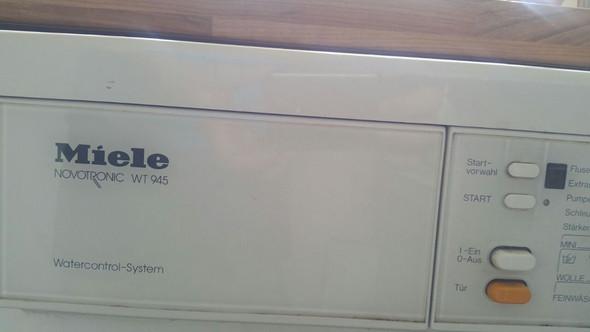 Mein Alte Miele Waschmaschine Ablauf Zulauf Blinkt Haushaltsgeräte