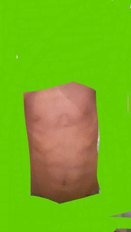 Bauch ist schief  - (Gesundheit, Körper, Penis)