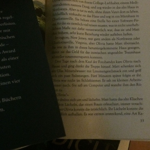 Das Buch fängt komischerweise sofort mit seite 33 an. - (Buch, lesen, Thriller)