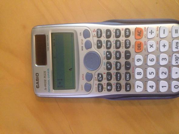 Der Rechner - (Mathe, Taschenrechner, Casio)