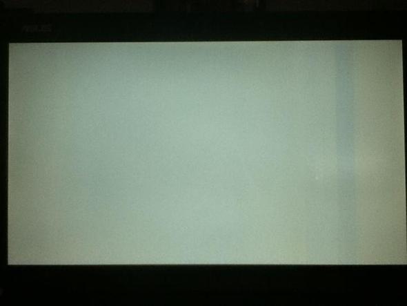 White Screen - (Computer, Hardware, Notebook)