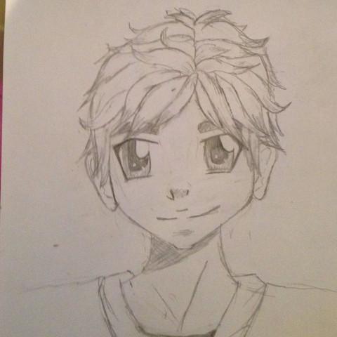 Mein erster männliche Manga, Meinungen? (Anime, zeichnen, malen)