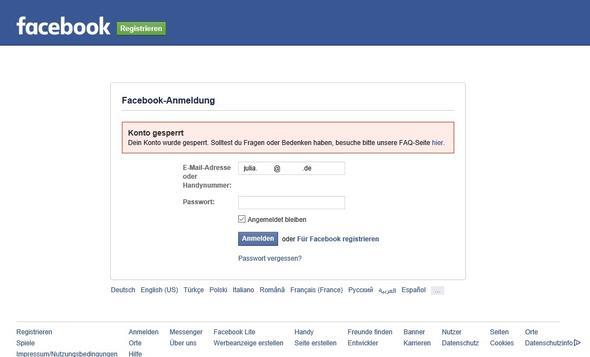 mein facebook profil wurde gel scht gesperrt internet l schen konto. Black Bedroom Furniture Sets. Home Design Ideas