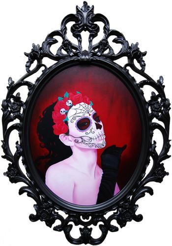 mein gesicht als calavera dia de los muertos tag der toten katrina tattoo design mexiko. Black Bedroom Furniture Sets. Home Design Ideas