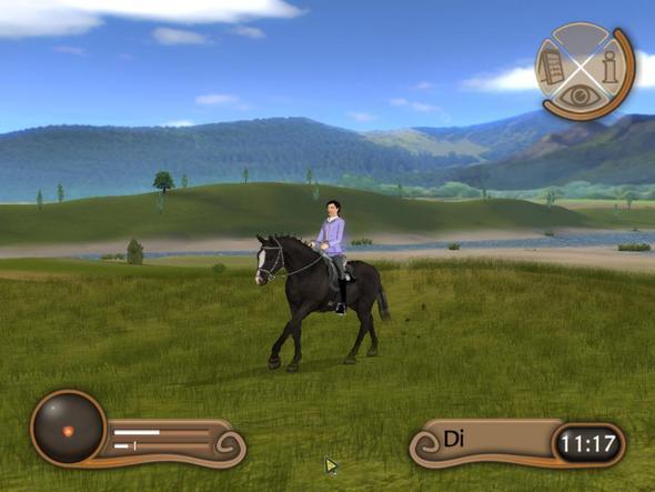 Mädchen Pferdespiele