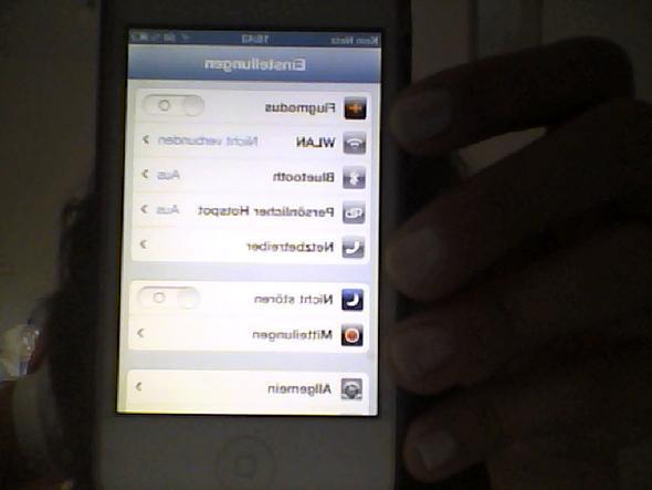 nicht verbunden - (Handy, Apple, WLAN)