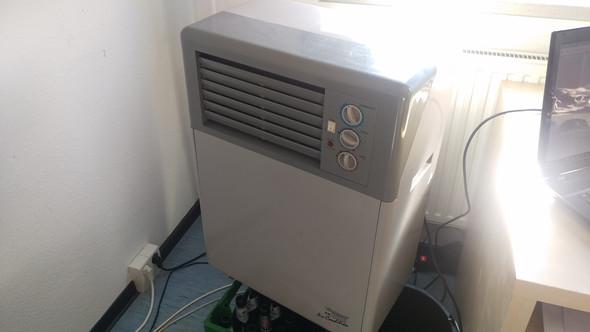 Das Klimagerät von Einhell - (Physik, Elektronik, Haushalt)
