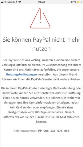 Paypal Konto Entfernen