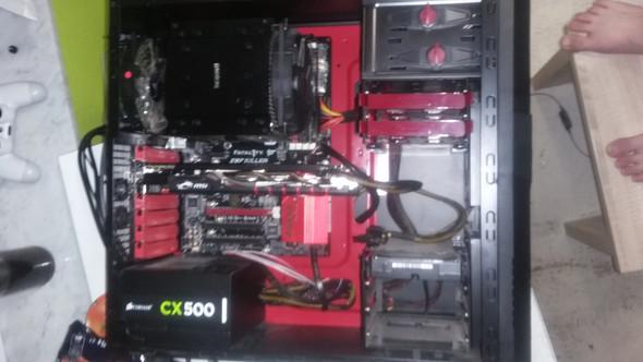 Mein pc - (Computer, schwarzbild)
