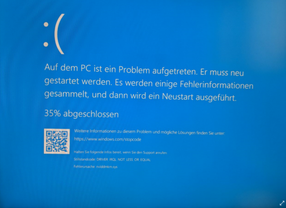 windows 10 wird neu gestartet
