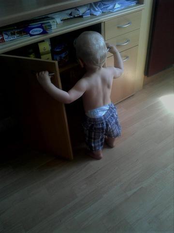 das ist mein sohn - (Kinder, Muskeln, Baby)