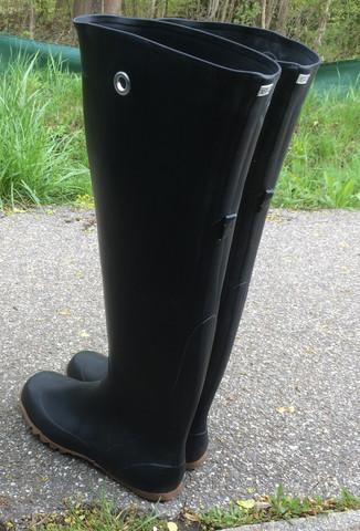 Gummistiefel - (Stiefel, anziehen, Gummi)