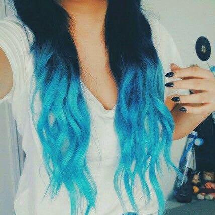 Meine Haar Blau Tonen Mit Directions Haare