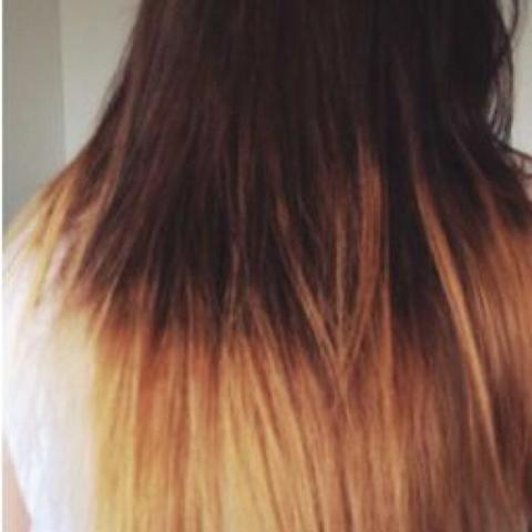 Meine Haare Ombre Farben Ja Oder Nein Friseur Ombre