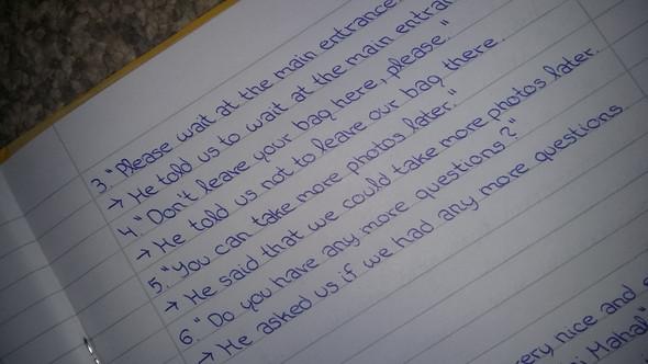 Da seht ihr mal meine Schrift :) - (Schule, Mädchen, Mobbing)