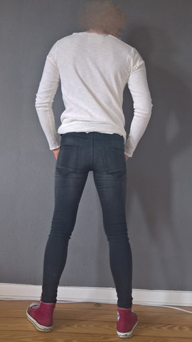 Skinny Jeans Outfit - (Jeans, super skinny jeans, Super Skinny)