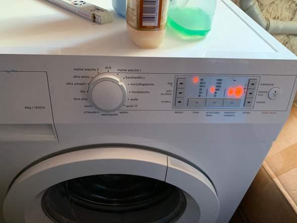 Meine Wäsche bei Gorenje Waschmaschine einstellen?