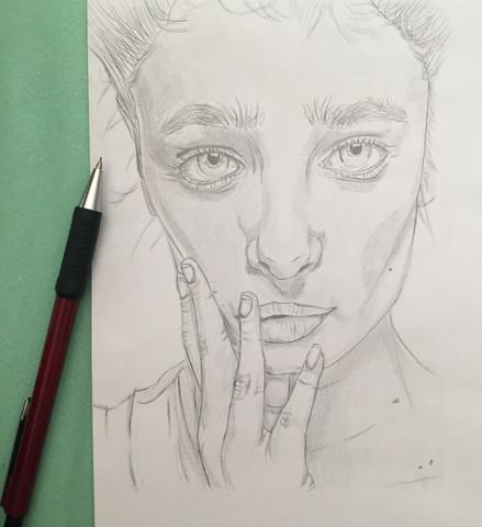 my drawing - (Frauen, Zeichnung)