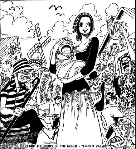 Makino + Baby - (One Piece, Shanks, Makino)