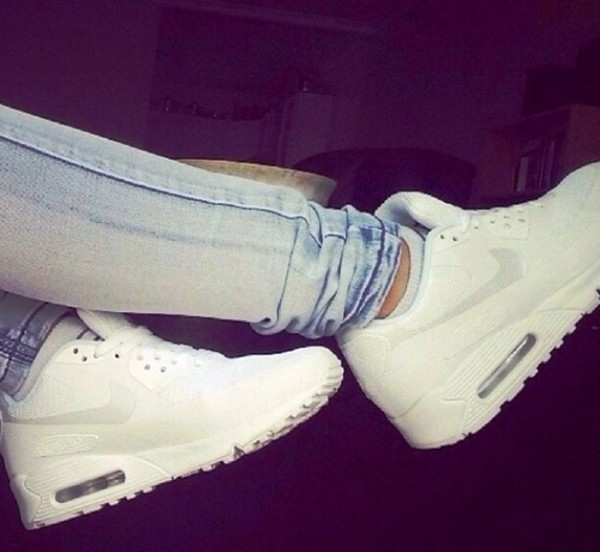 Nike Air Max White Tumblr