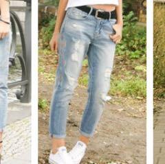 Meinung zu boyfriend jeans bei Mädels?