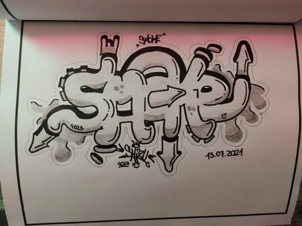 Meinung zu meinem neuen Graffiti :D?