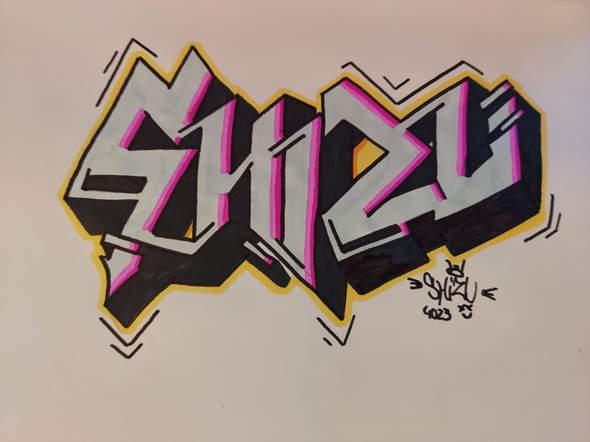 Meinung zu meinem neuen Graffiti Sketch?