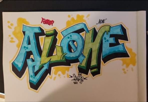 Meinung zu meinem neuen Graffiti?