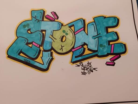 Meinung zu meinem neuen Sketch (Graffiti)?