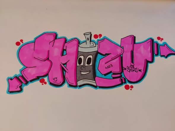 Meinung zu meinen neuen Graffiti :D?