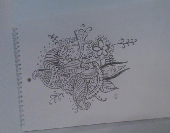 heute gemacht - (Hobby, zeichnen, malen)