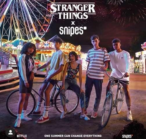 Meinung zu neuer Snipes/Stranger Things Kollektion Umfrage?