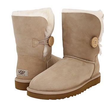 Weiße Ugg-Boots Bailey Button 💕 - (Mädchen, Schuhe, Meinung)