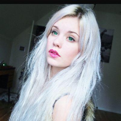 Bild 1 - (Haare, Färben, Silber)