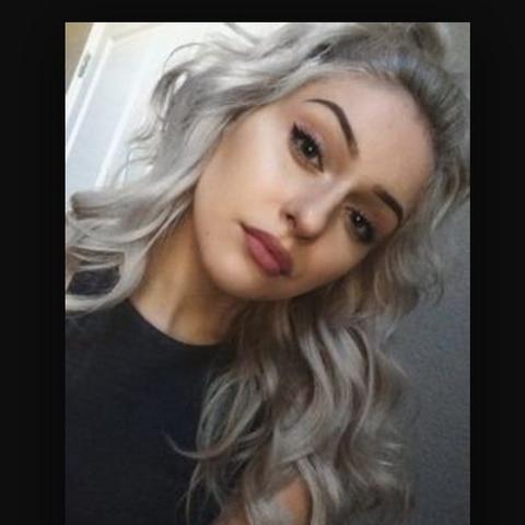 Haare silber farben mit directions