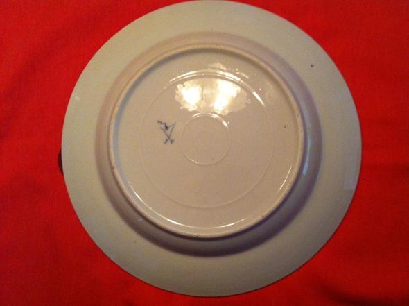 Bodenansicht - (Porzellan, Rauenstein Porzellan Suppenteller)