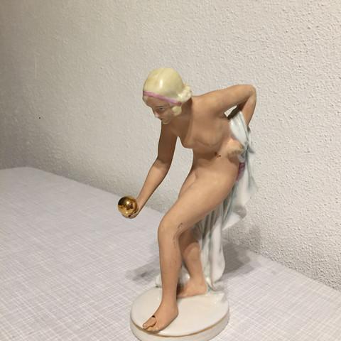 Figur - (Porzellan, meissen)