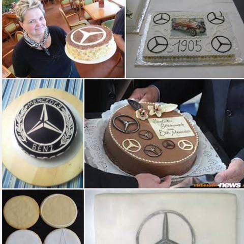 Mercedes Benz Kuchen