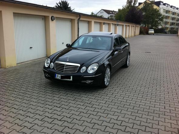 Diese E-Klasse - (Mercedes Benz, hässlich, Auto alt)