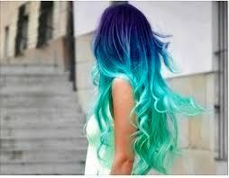 Mermaid hair ^^ - (Haare, Frisur, Style)