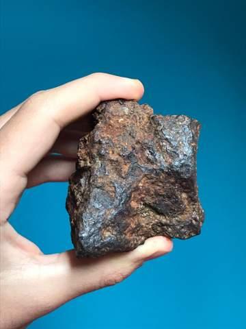 Meteorit im Wald gefunden?